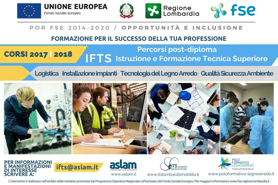 IFTS 2017-2018 LANCIO