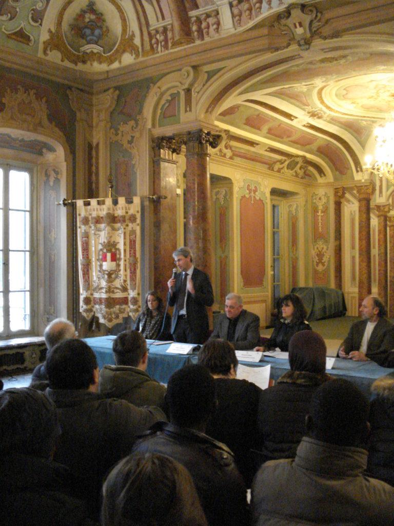 Davide Galimberti, sindaco di Varese